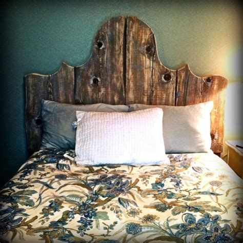 rustic headboard home decor and ideas