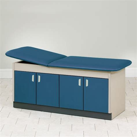 clinton cabinet style laminate pediatric treatment tables