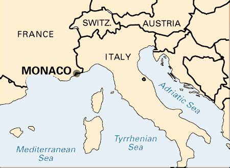 where is monte carlo on the world map monaco location encyclopedia children s