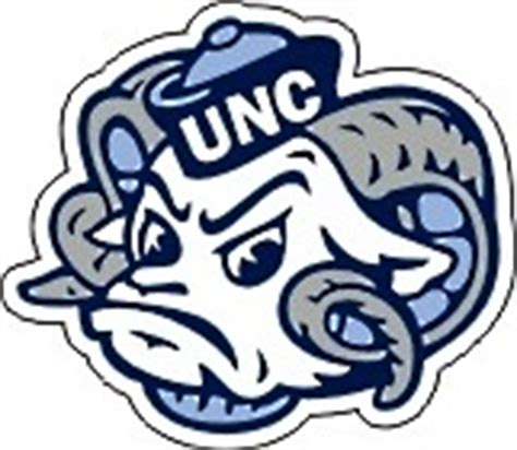 unc university of north carolina large ram logo north carolina tar heels die cut unc ram head vinyl nc decal 4 quot