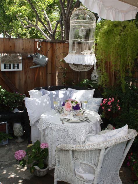 Shabby Chic Garden Decorating Ideas 25 Shabby Chic Style Outdoor Design Ideas Decoration