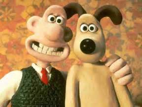 And gromit are the two characters in wallace and gromit series