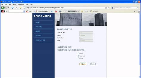 design online voting system online voting ieee projects non ieee projects youtube