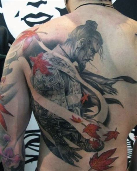 back arm tattoos for men 50 samurai designs for noble japanese warriors