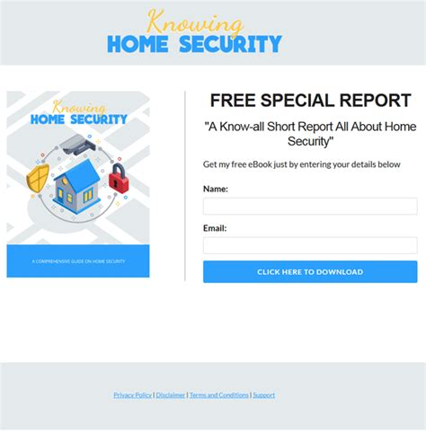 home security plr report