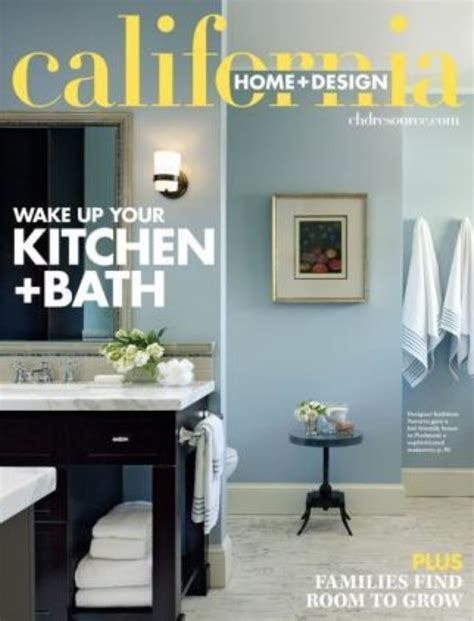 california home and design magazine best home design