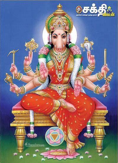 ambal   form  varahi varahi durga goddess