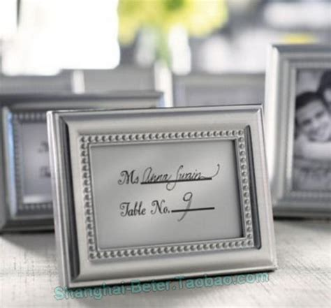 place card holders for wedding reception photo frame and place card holder wedding reception wj015