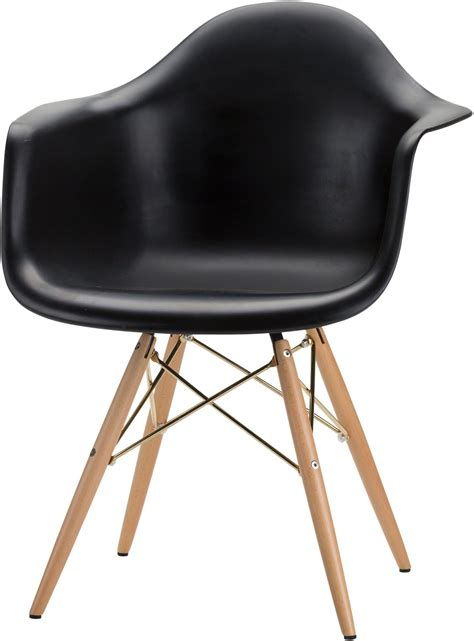 earnest black and gold dining chair hgzx392 nuevo