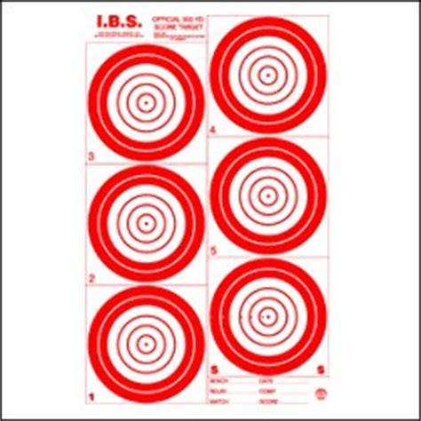 printable ibs targets rifle targets free