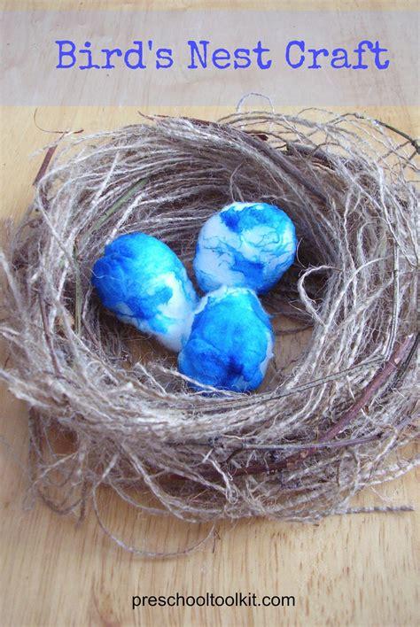 bird s nest craft for kids allfreekidscrafts com