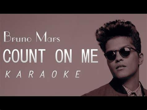 bruno mars mp3 download karaoke bruno mars count on me karaoke version youtube