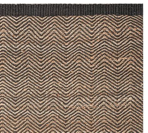 Pottery Barn Zig Zag Rug Cooper Zig Zag Fiber Rug Black Pottery Barn Furniture Decor