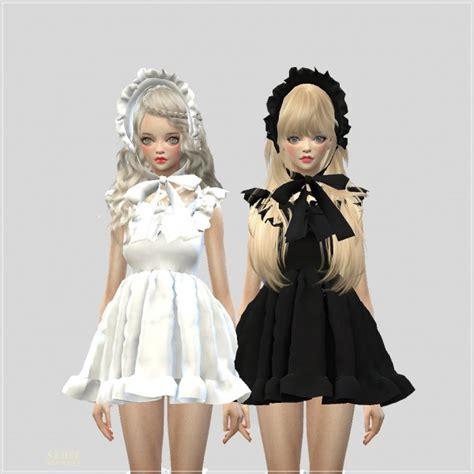 Kk Home Decor sims4 marigold pure doll dress sims 4 downloads
