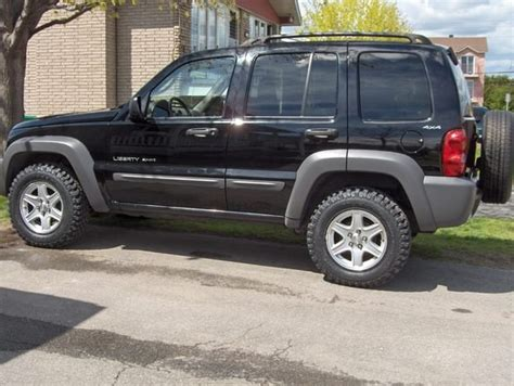 Jeep Liberty Tires What Size Tires Are On A 2002 Jeep Liberty