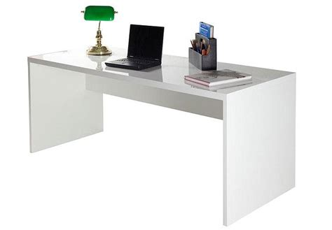 schreibtisch skoro wei 223 hochglanz lackiert - Schreibtisch Weiß Hochglanz 180