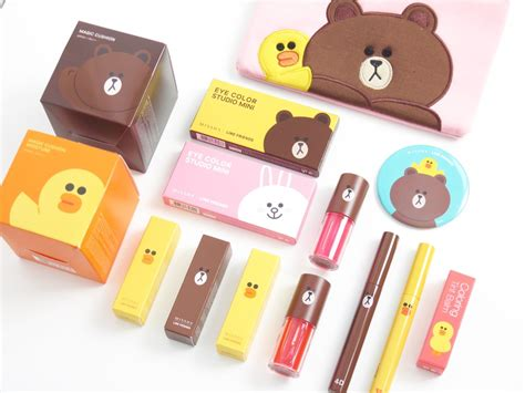 Missha Line Friends Mascara 3d missha x line friends collection the outlet of my consciousness