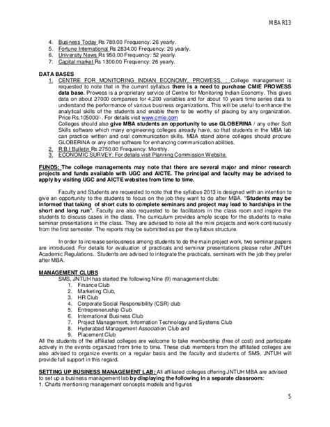 Mba 570 Shippensburg Syllabus by Mba Coursestructure And Syllabus Uploaded By Satheesh Ponnam