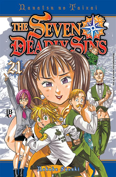 the seven deadly the seven deadly sins 21 mang 225 s jbc