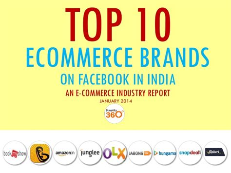 most popular teen brands 2014 top 10 indian e commerce brands on facebook january 2014