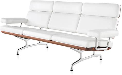 charles eames sofa eames 174 3 seater sofa hivemodern com