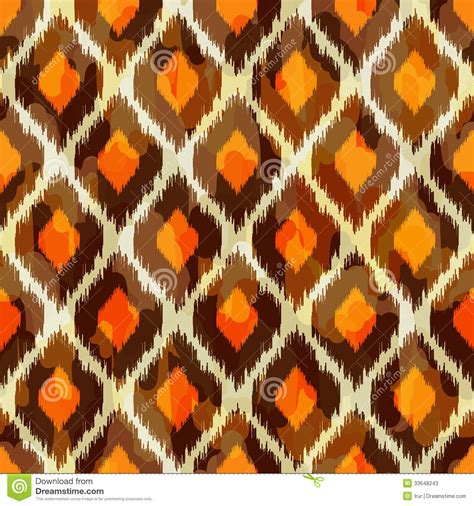 tribal pattern fashion modern ikat tribal seamless pattern for web or hom stock