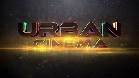 Urban Cinema Intro Template Download C4d Project Tut Youtube Cinema 4d Templates