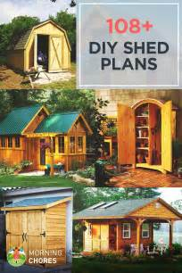 Build Your House Online by 108 Diy Shed Plans With Detailed Step By Step Tutorials Free