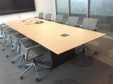 used conference table used office conference tables used nucraft conference