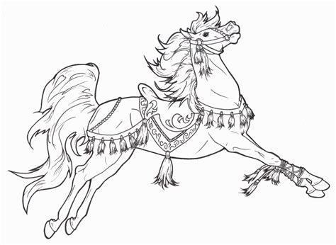 coloring pictures of carousel horses carousel horse coloring pages to print coloring home