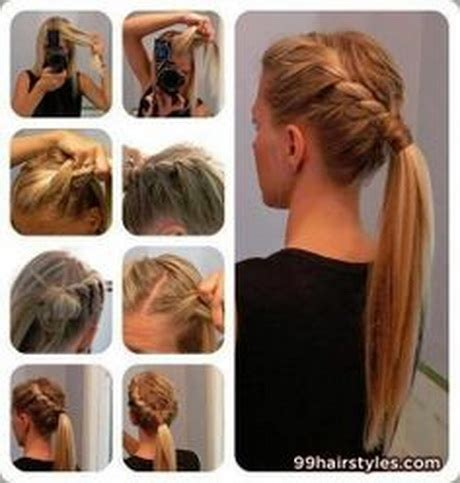 easy hairstyles for medium hair for school step by step simple hairstyles for hair