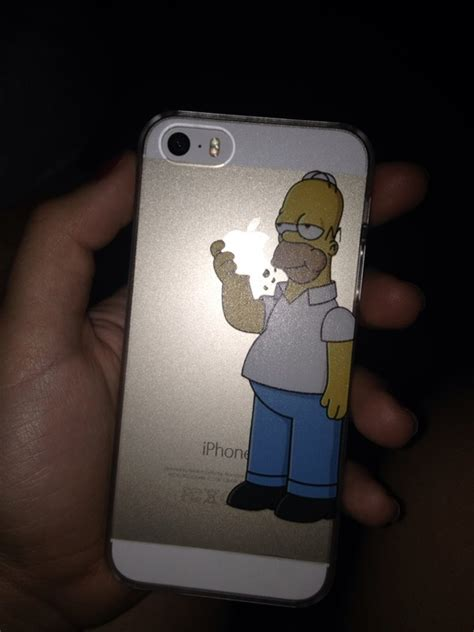 Homer Nike Iphone 5 5s 5c 6 6s 7 Plus the simpsons homer simpsons inspired custom design