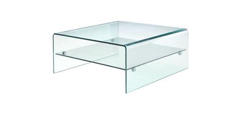 Table Basse En Verre Carree