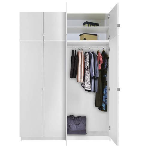 Free Standing Closets With Doors Alta Free Standing Closet 8 Door Taller Package Contempo Space