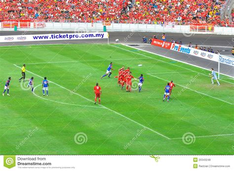 Of Liverpool Mba Football Industries by Malaysia And Liverpool Football Match Editorial Stock