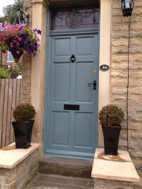 My New Front Door Farrow And Ball Oval Room Blue Front Front Door Colours Farrow And