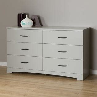 Dresser With Soft Drawers by South Shore Step One 6 Drawer Dresser Soft Gray