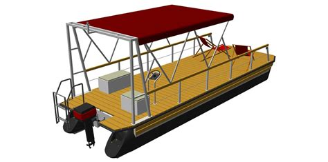 pontoon houseboat kits boat kits the individual kit for your pontoon boat by perebo