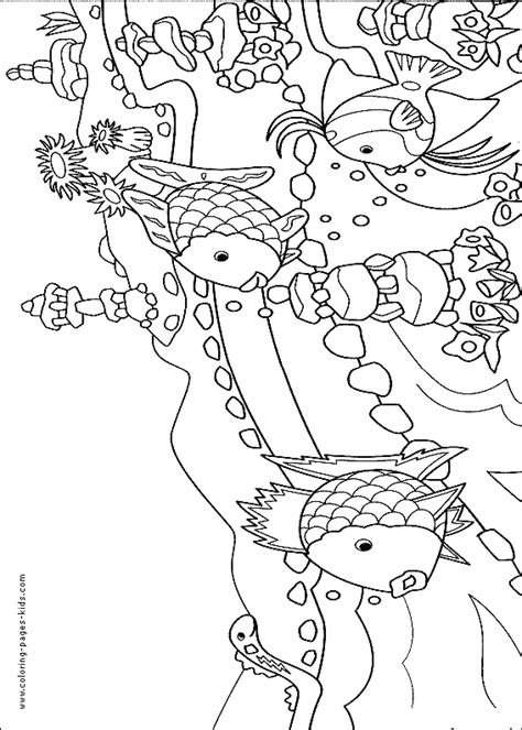 coral reef fish coloring pages coloring pages