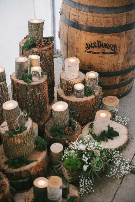 pine cone themed decor best 25 wood themed wedding ideas only on