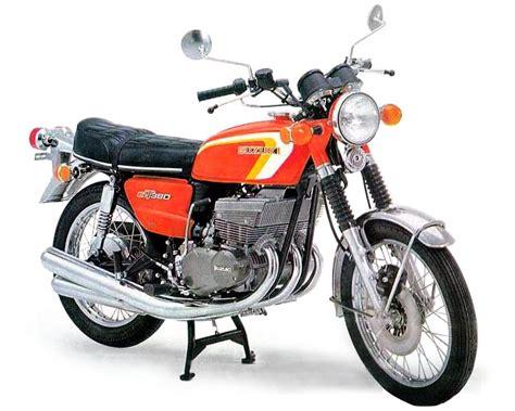 1973 Suzuki Gt380 Suzuki Gt380 Model History