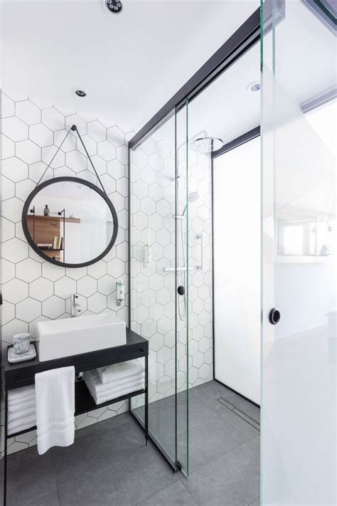 hex tiles for bathroom floors my bathroom inspiration file the eye milk bar