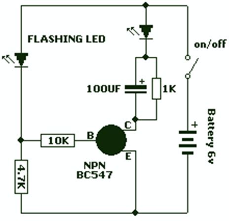bc547 transistor inverter led flasher using bc547 and 28 images 8 leds flasher circuit using bc547 transistor circuit