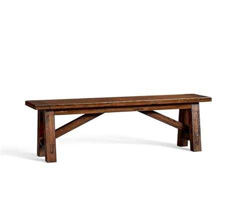 toscana bench toscana fixed bench pottery barn