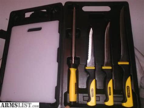fishing knife set armslist for sale stanley fish fillet knife set