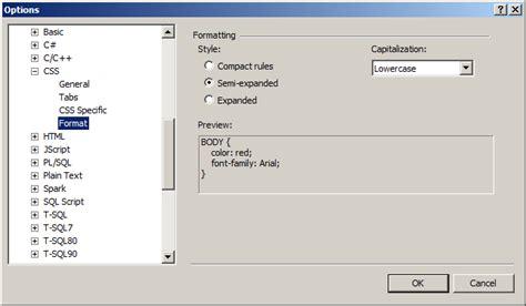 format js file in visual studio visual studio s javascript code formatting in for loops
