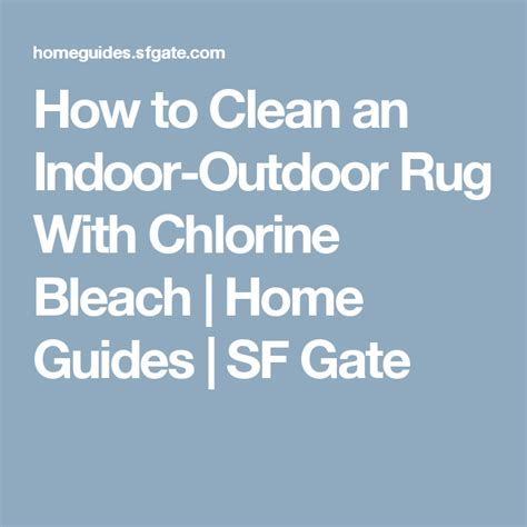 how to clean an outdoor rug rigalloro info