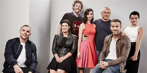 deadpool cast image gallery deadpool cast