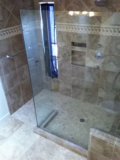 Bath To Shower Converter by Master Bathroom Tub Shower Conversion Before And After