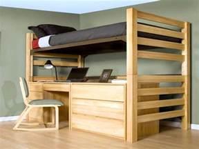Loft Bed Platform - 17 desk bed for adults designs made for workaholic